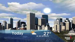 Edmonton early morning weather forecast: Wednesday, June 12, 2019
