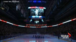 Toronto Maple Leafs pay tribute to Gord Downie