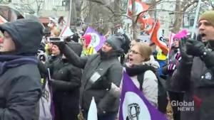 Protesters demand province reinvest in public daycares