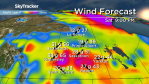 Saskatoon weather outlook: 30 degree heat moves out, wind rolls in
