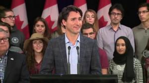'Every penny collected in Saskatchewan, will stay in Saskatchewan': Trudeau on federal carbon tax
