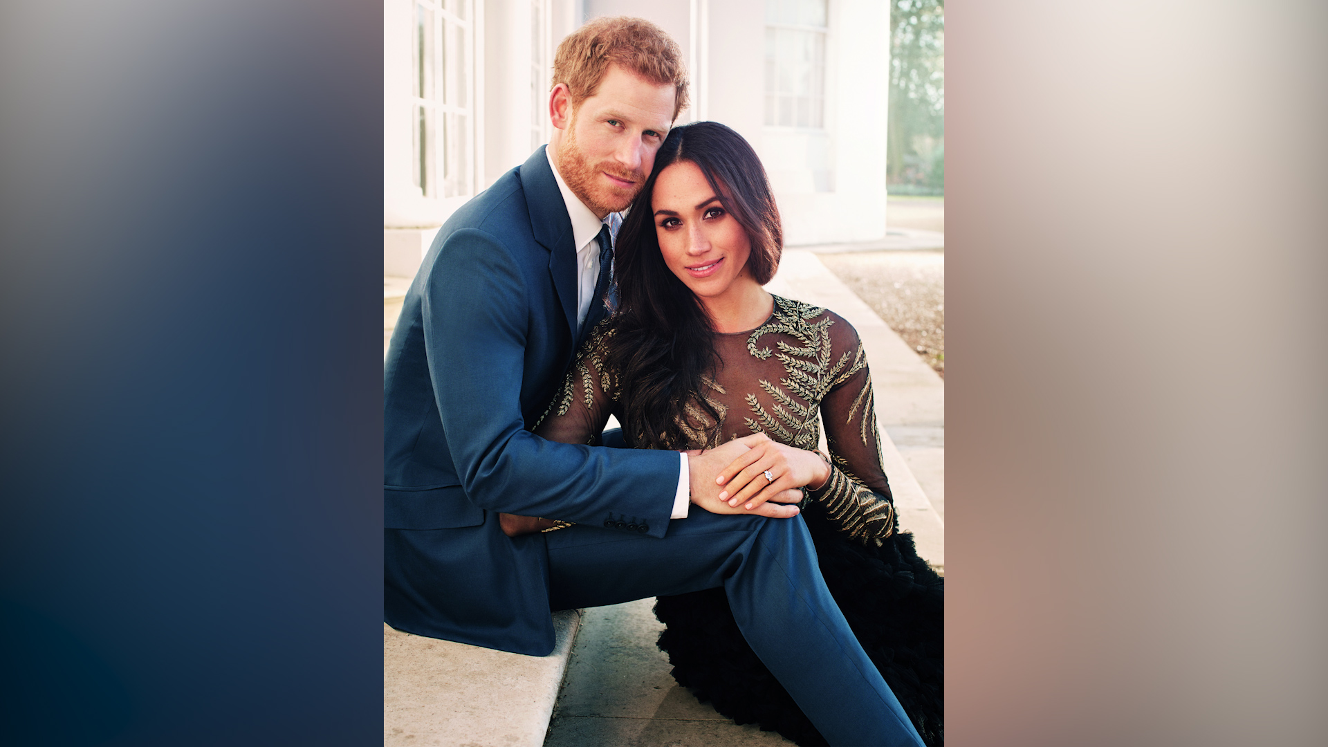 Prince Harry and Meghan Markle share breathtaking engagement photos