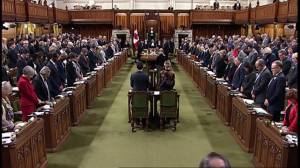 House of Commons holds moment of silence for victims of Montreal Massacre
