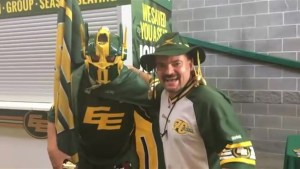 Global News goes 'All In' at the Edmonton Eskimos home opener