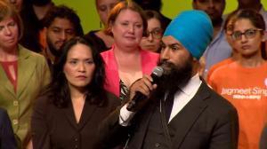 NDP leadership candidate Jagmeet Singh says basic income, racial profiling on his agenda