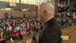 'Anyone can make a difference,' Terry Fox's brother tells students