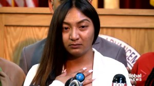 Stephon Clark's fiancee pleads that people don't stop advocating for new state legislation