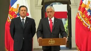 Chilean president says Chile, Lima Group recognize Juan Guaido as Venezuelan president