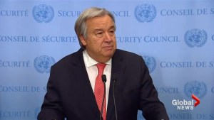 UN chief: 'no alternative to two-state solution' after U.S. Jerusalem decision