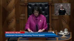 B.C. throne speech 2019: Climate BC plan