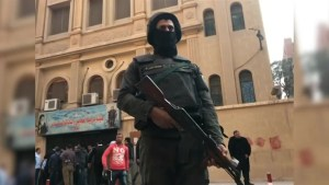 Police surround Cairo church following fatal mass shooting