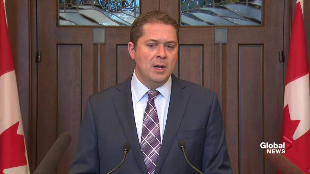 Andrew Scheer rejects use of 'genocide' in reference to Indigenous women, girls