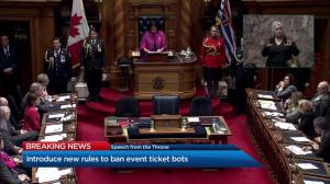 B.C. throne speech 2019: Education funding