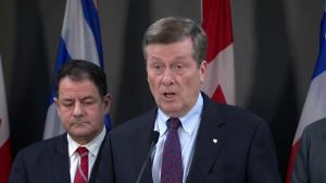 Toronto Mayor John Tory to push for 400 beds for shelter system