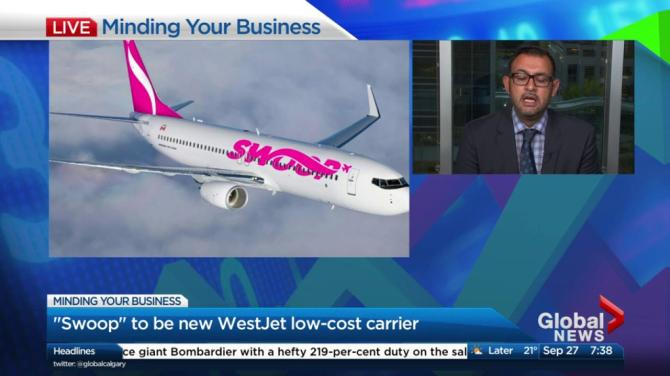 Extra-low-cost airline Swoop to launch June 20; offers $0-fare promotion