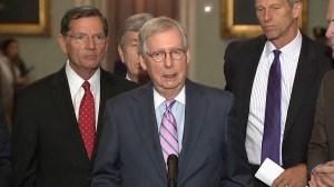 Republicans praise Trump for Supreme Court nominee Brett Kavanaugh, criticize Democrats over opposition