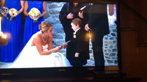 Bride reads vows to stepson, groom's ex in viral video