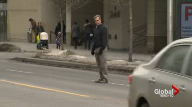 The most fatal type of jaywalking may be legal in Toronto