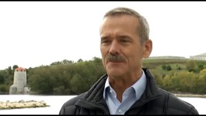 Col. Chris Hadfield returns to Kingston's RMC for reunion weekend