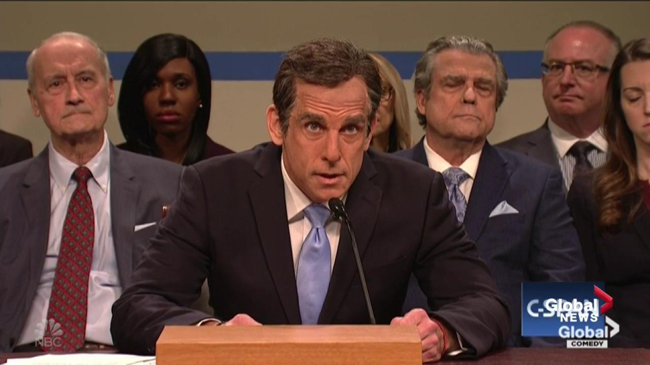 Ben Stiller Portrays Michael Cohen On SNL's Depiction of the Cohen Hearing