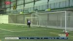 2017 U Sports National Soccer Championships: Bisons Shooting Drills