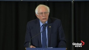 Bernie Sanders says 'democracy under attack' under Trump