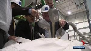 EPCOR starts turning dirty Edmonton water into fertilizer