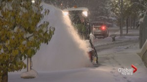 Commuter chaos as wintry weather comes early to Calgary