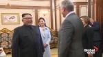 North Korea's Kim welcomes Cuba's president to Pyongyang