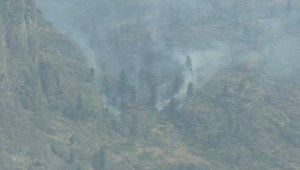 Despite progress being made on a number of fires burning in the Okanagan, residents urged not to let their guard down