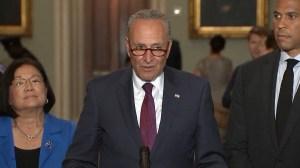 U.S. Democrats express concern for women's rights, Mueller investigation over Trump Supreme Court pick