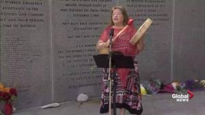 Swissair 111 memorial: Mi'kmaq drummer opens ceremony