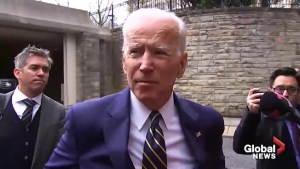 Joe Biden 'not sorry for his intentions' following allegations of inappropriate touching