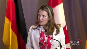 Freeland advises China to 'listen carefully' to concerns of Hong Kong residents