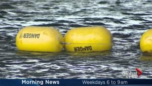 Saint Lawrence sewage dump starts