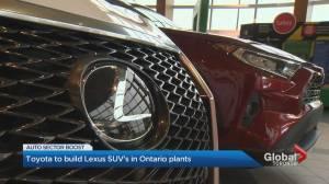 New Lexus production in Ontario