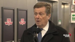 Tory excited to be speeding up process for downtown relief line