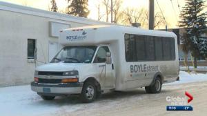 Boyle Street warming bus helping Edmontonians get out of the cold