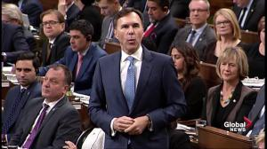 Opposition drills Liberals with Morneau-Shepell share questions