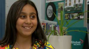 10-year-old Calgary girl competes at international braille challenge: 'A great opportunity!'