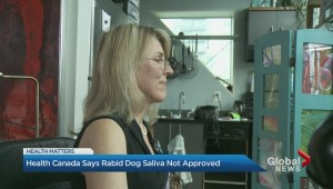 Health Canada says dog saliva therapy not approved