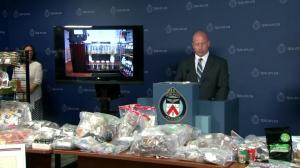 Toronto Police seize over 269 kilos of dried cannabis