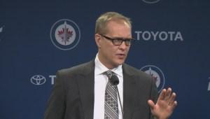 WATCH: Winnipeg Jets react to 2-1 loss against Edmonton Oilers