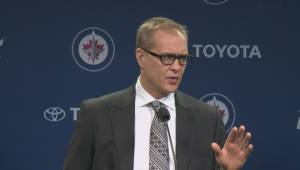 WATCH: Winnipeg Jets react to 2-1 loss against Edmonton Oilers