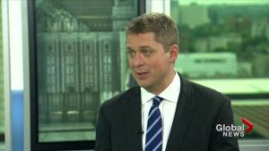 "Scheer says his climate plan will ""unleash a technological revolution"""