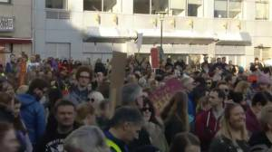 Thousands rally in Iceland after release of Panama Papers ignites controversy for PM
