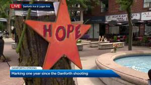 Vigil to be held on the Danforth marking 1 year since mass shooting