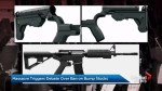 Las Vegas shooting sparks gun control debate