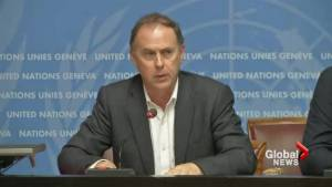 UN High Commissioner for Human Rights condemns killings in Gaza
