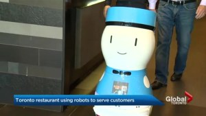 Toronto restaurants using robots to serve customers